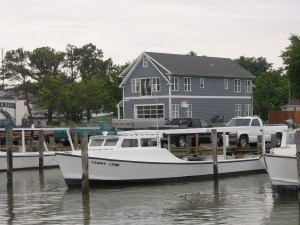 Chesapeake Bay 'Deadrise' crab boat