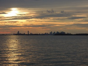 Boston from Peddock's Island